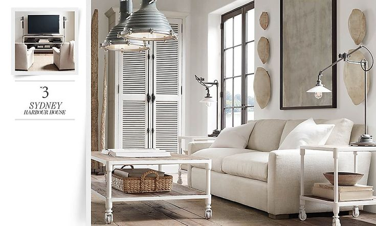 Rooms Restoration Hardware Around The House