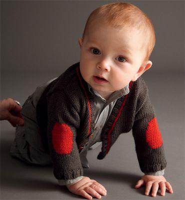 Modèle gilet à poches bébé
