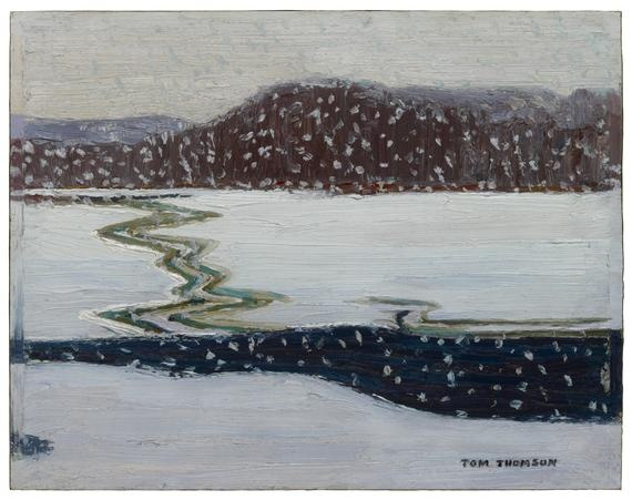 tom thomson - the last snow, algonquin park (1914)