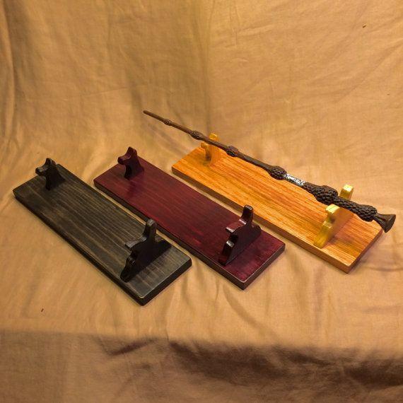 ... wand stand custom made custom finish magic wand holder Voldemort