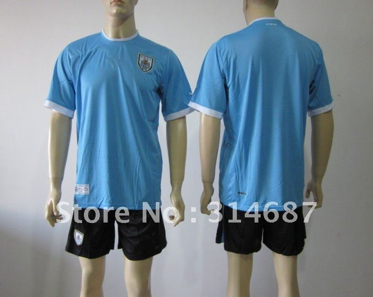 Wholesale 12-13 Uruguay home soccer jersey,soccer Uniforms blue with short on AliExpress.com. $90.00