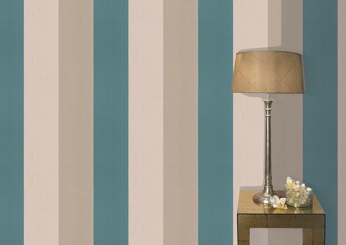 Figaro Teal / Gold Graham and Brown casa Pinterest