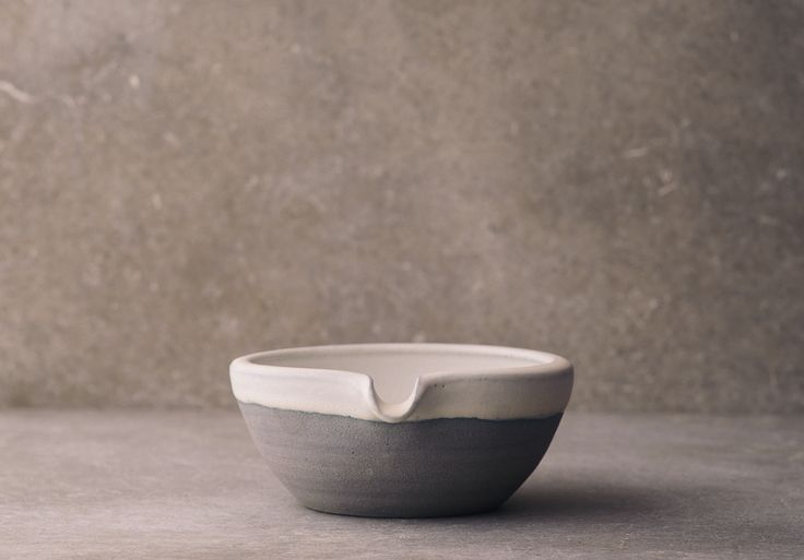 Small Lipped Blue Pouring Bowl by deVOL
