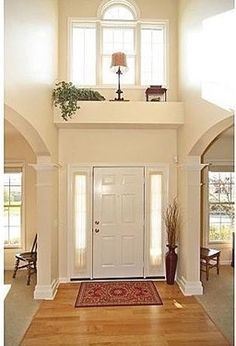 Light colours make a room look bigger, while dark tones close in and make the space smaller. decorating ledges high ceilings - Google Search   Ledge
