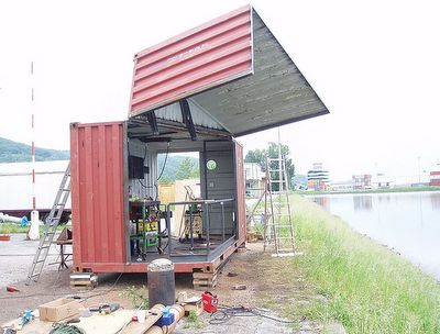 168 best container building construction images on for Decor 718 container