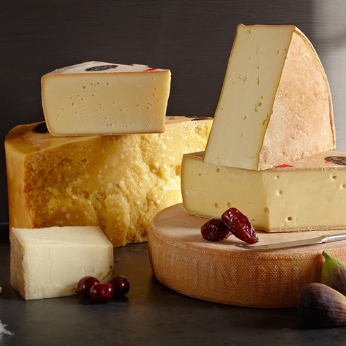 Image of The Red Cow Presents Cheese Wine Objects