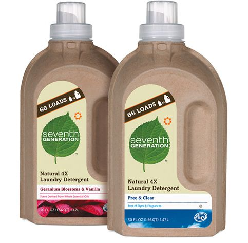 Seventh_generation_natural_laundry_detergent1: Biodegrad Packaging, Eco Packaging, Detergent Bottle, Packaging Colors, Sustainability Packaging, Packaging Design, Eco Friends, Detergent Packaging, Colors Quizs