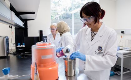 UQ serves up new Food Science Innovation Precinct - Australia's food-centric culture—illustrated by the popularity of dining out, healthy eating and television cooking shows—will benefit from a new $1-million facility at the University of Queensland.
