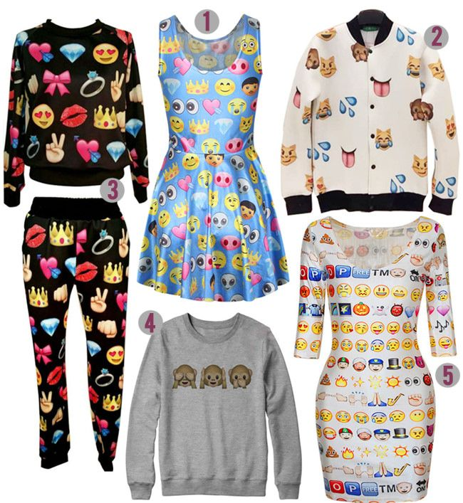 emoji clothing - Google Search