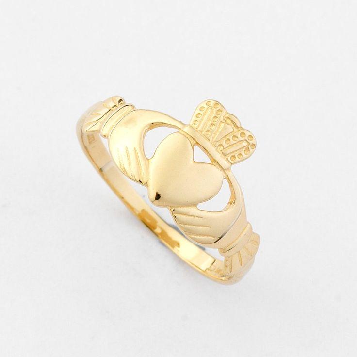 Claddagh Ring - Irish Promise Ring | Brian de Staic Celtic-Irish Jewelry