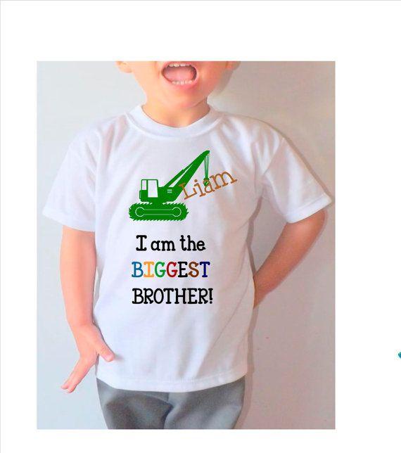 Muy lindo personalizado yo soy el hermano por DJammarMaternity