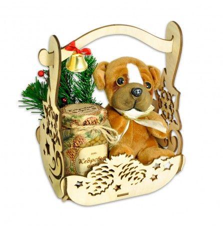Новогоднее лукошко подарков – Профессиональные сувениры