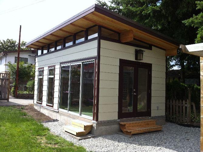 Prefab Garage Kit - Coastal Modern-Shed