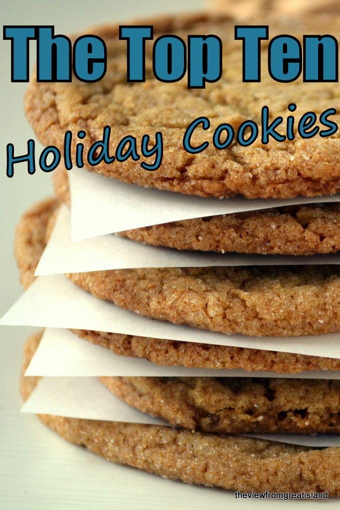 The Top Ten Holiday Cookies