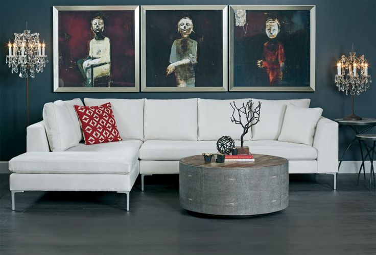 Gothic Chic - Stefan Sectional http://www.highfashionhome.com/room-ideas-living-room-gothic-chic.html #highfashionhome