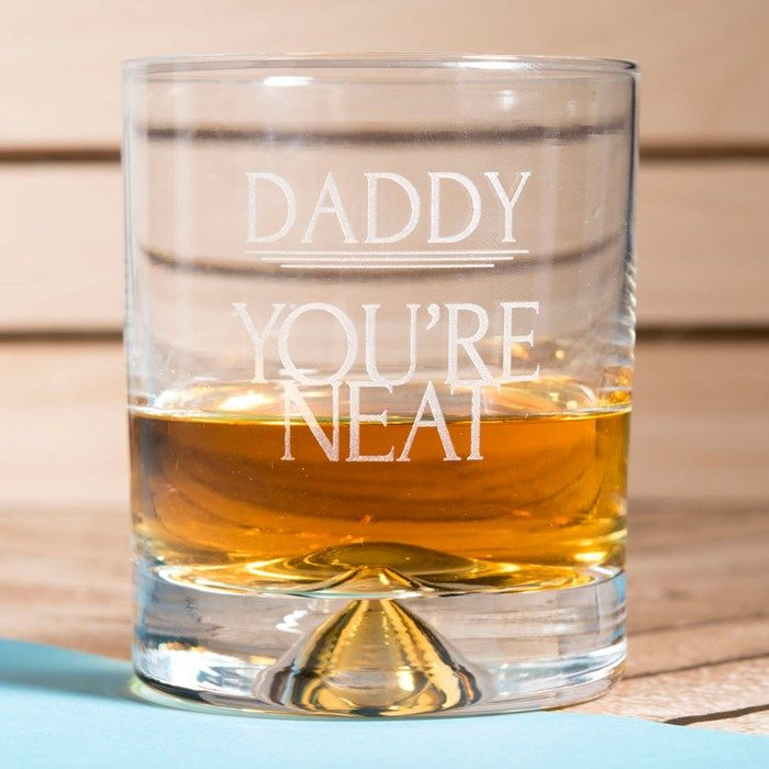 Personalised Whisky Tumbler - You're Neat | GettingPersonal.co.uk