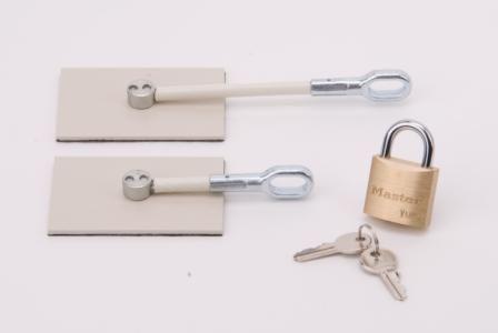 Home > Refrigerator Locks > Ivory Refrigerator Door Lock