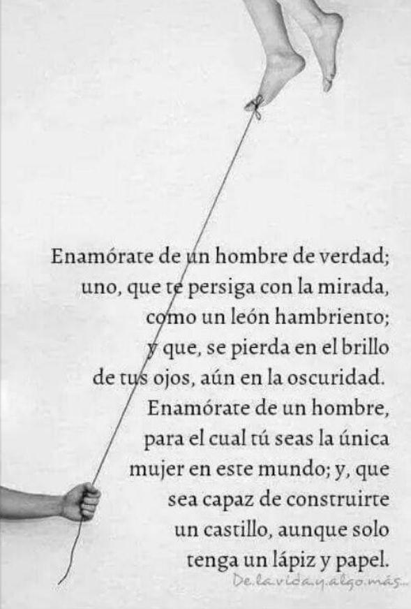 Pablo Neruda - Enamórate de un hombre de verdad...