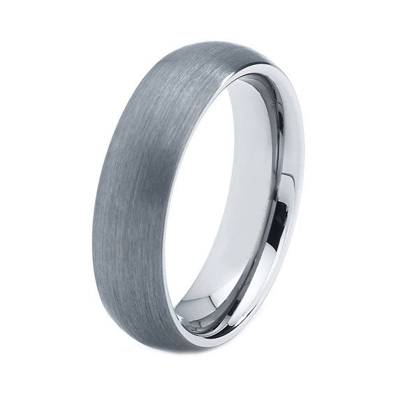 Titanium Wedding Band Men Titanium Rings Mens by GiftFlavors, $97.77