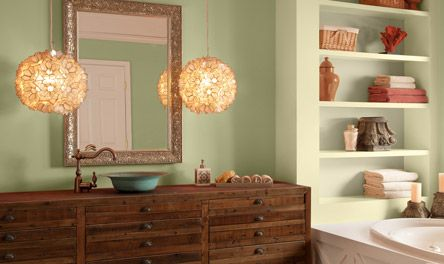 Best Ideas About Peach Bathroom Girl S Bathroom And Green