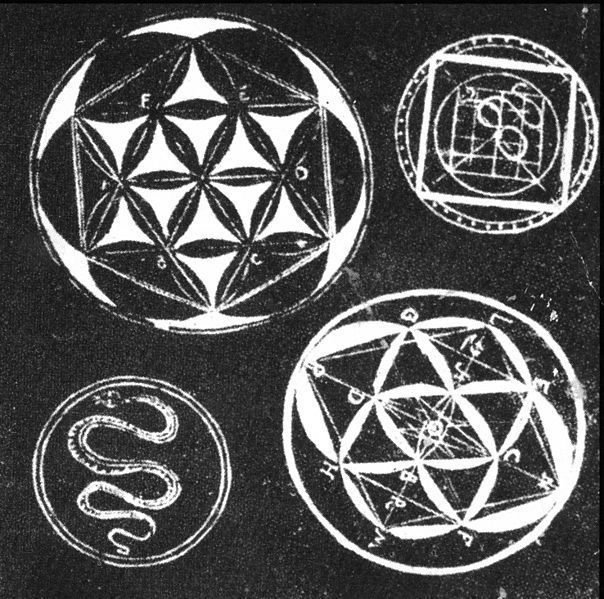 33 Best Six Petal Rosette Images On Pinterest Sacred Geometry