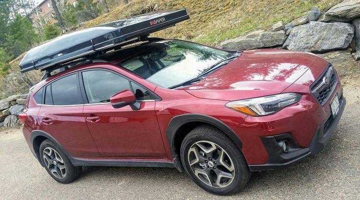 Subaru Crosstrek With Ikamper Skycamp Rooftop Tent