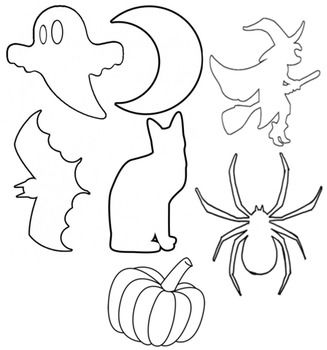 halloween cut out printable