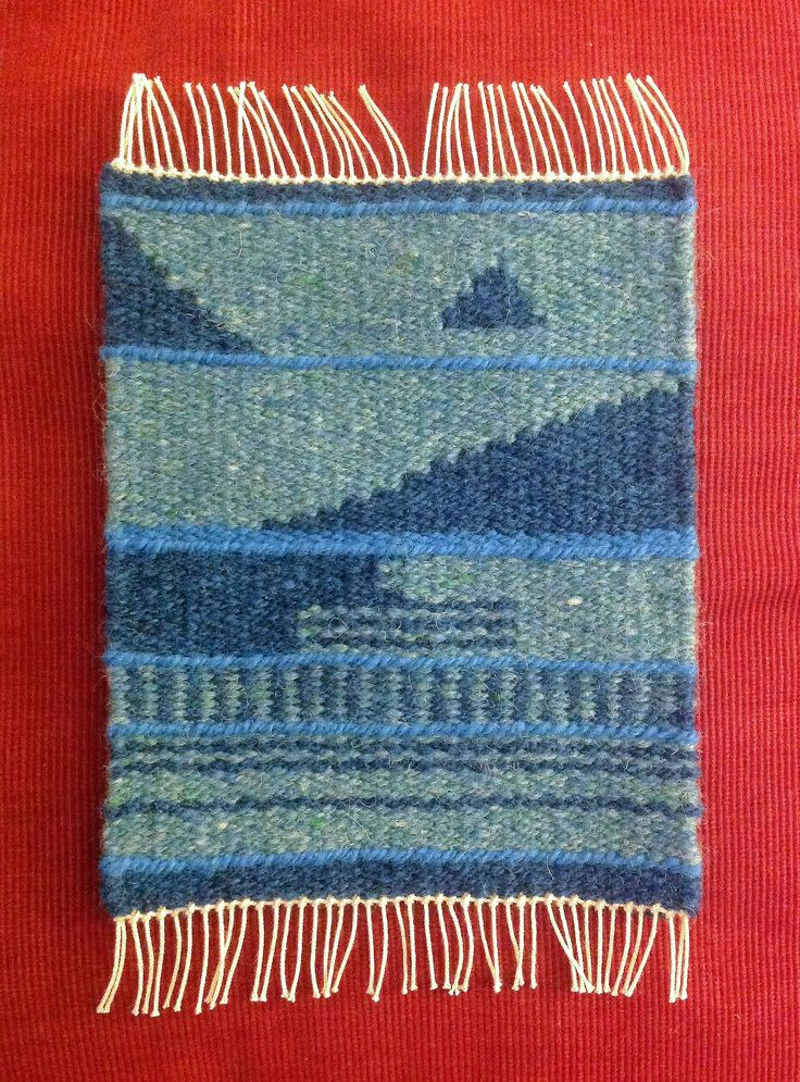 Debbie Russell, Weaving Tapestry on Little Looms online class with Rebecca Mezoff
