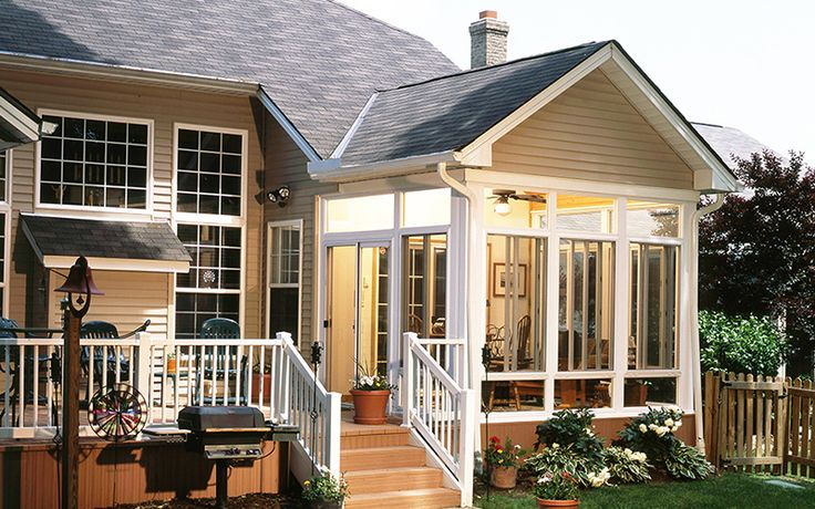 112 best images about porches on pinterest for Sun porch additions