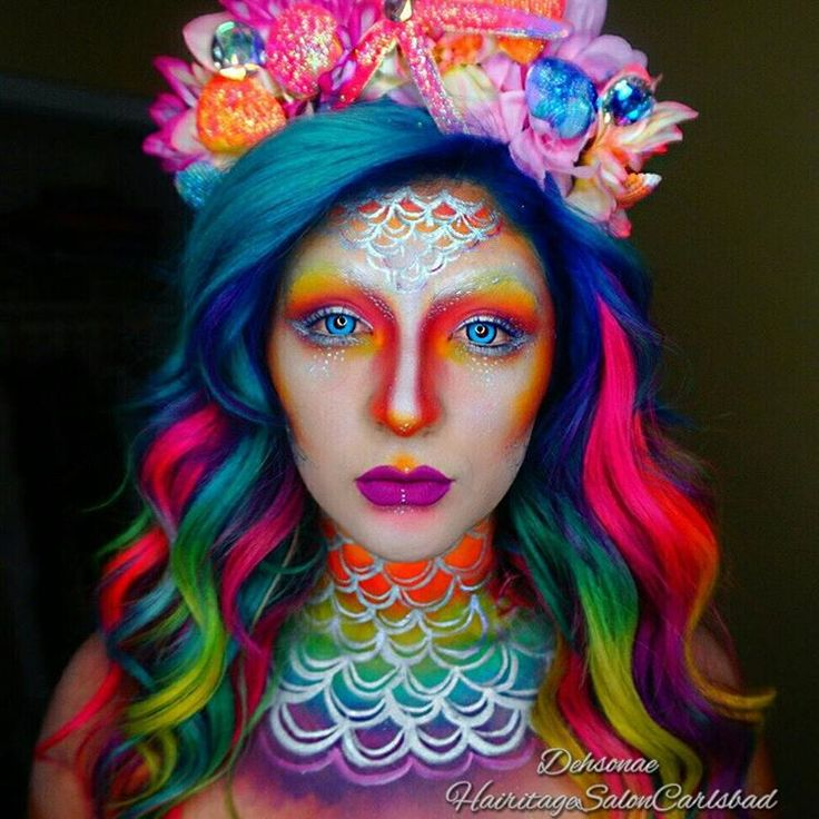 8 best halloween stuff images on pinterest artistic make up electricmermaid collaboration with the hair toni hairitagesaloncarlsbad who is the mastermind behind solutioingenieria Choice Image