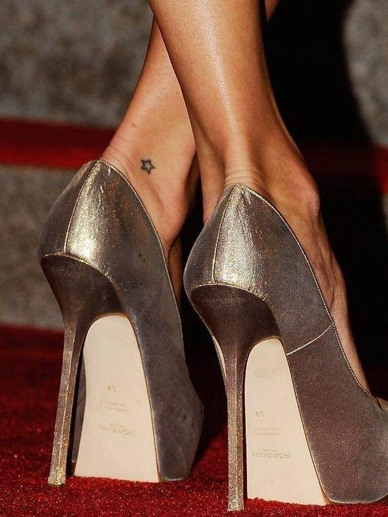 Foot Star Tattoo