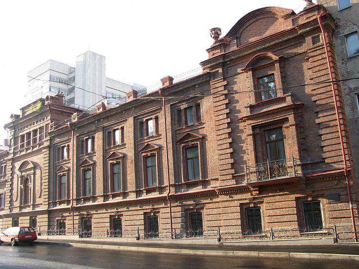 Концертный зал Маклецкого - Кирпичный стиль — Википедия