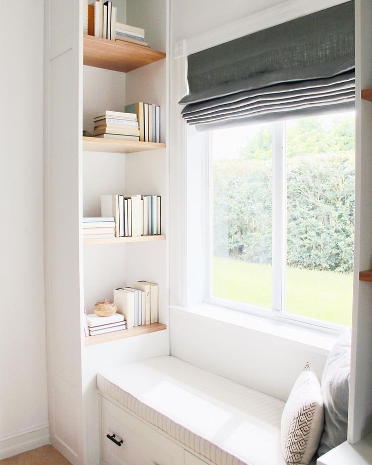 Cute And Cozy Reading Nook The Only Thing We D Change Is We D Add Some Plants Window Seat Design Home Decor House Interior