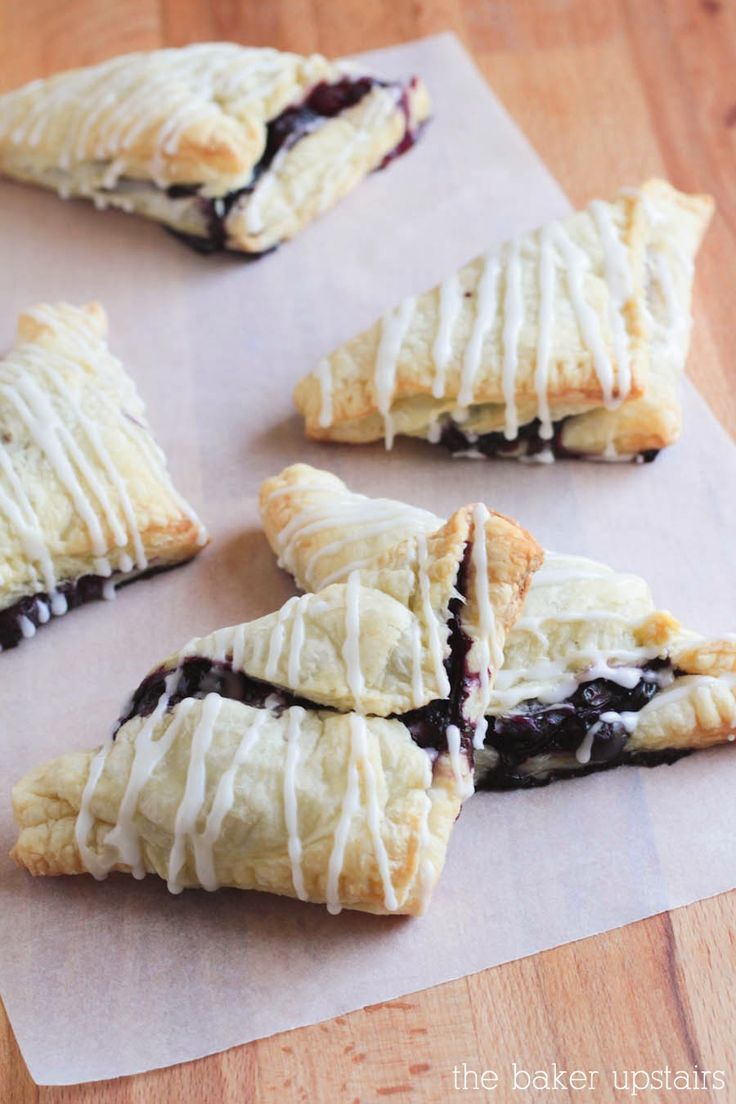 the baker upstairs: Search results for Puff pastry blueberries