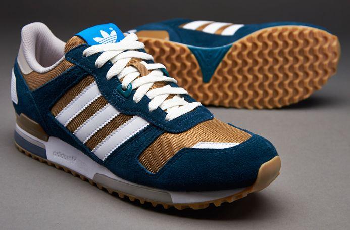 Sepatu Sneaker Adidas Originals ZX700 St Tarnish White Dark Petrol