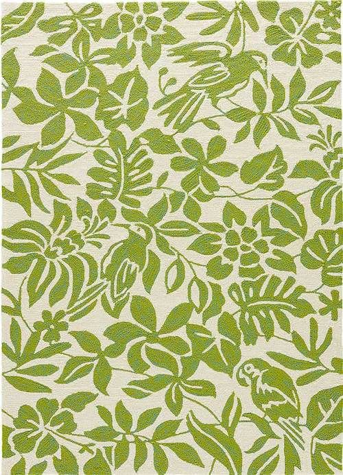 Citron Kokomo Tropical Area Rug