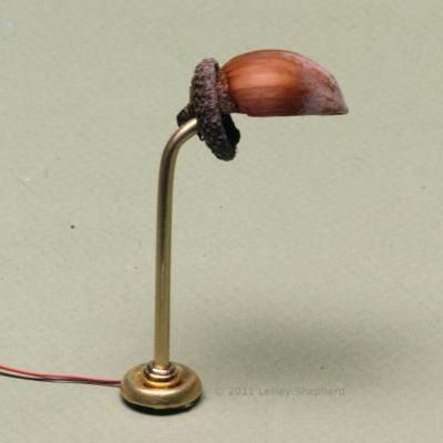 Make a Reading Lamp for a Fairy or Mouse: Make a Miniature Reading Lamp