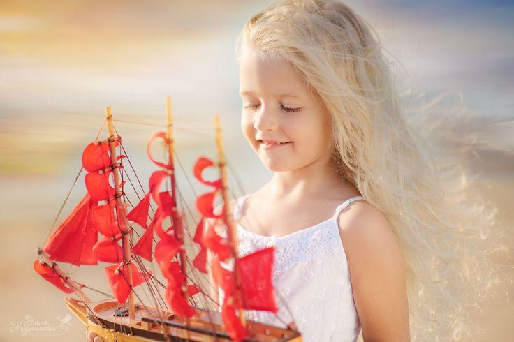 Семейный фотограф Курмышева Элина фея, сказка, море, алые паруса, фотосессия, волшебство, девочка