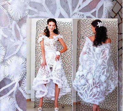 Tina's handicraft : crochet wedding bolero