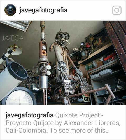 Proyecto Quijote Sin soldadura Hugo Alexander Libreros Mayor Santiago de Cali Colombia