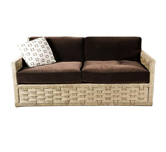 Hopkins Rope Sofa : Rope : Material : Indoor Furniture : The Wicker Works
