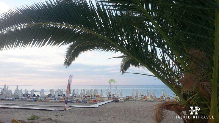 #Nea #Kallikrateia #beach in #Halkidiki. Visit www.halkidikitravel.com for more info. #HalkidikiTravel #travel #Greece