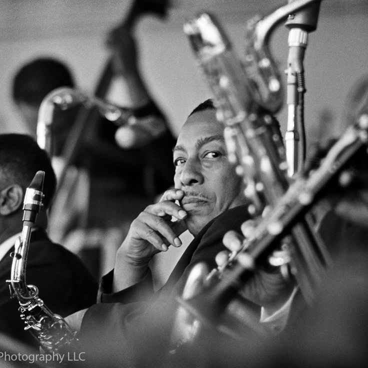 Johnny Hodges photographed at The Monterey Jazz Festival in Monterey, CA September 24, 1961