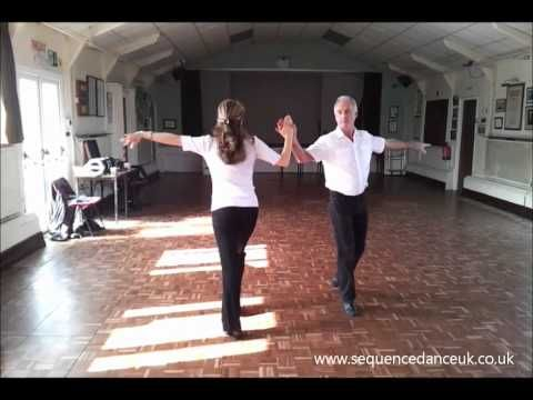 Jacqueline Cha Cha Sequence Dance Walkthrough - YouTube