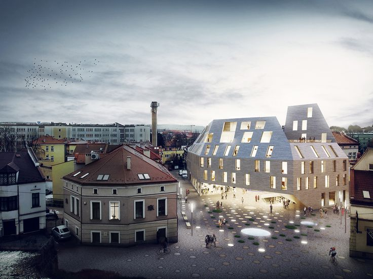 Gallery - Pottery-Inspired Design Wins Competition for Multifunction Building in Poland - 2