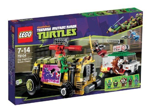 LEGO Tortugas Ninja – Persecución en el furgón blindado (79104) | Your #1 Source for Toys and Games