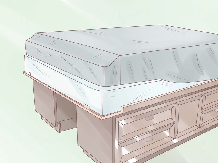 Build A Captain S Bed From Two Dressers