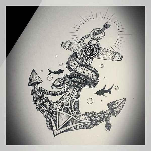 die besten 17 ideen zu anker tattoo auf pinterest. Black Bedroom Furniture Sets. Home Design Ideas