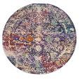 Lavender/Ivory Medallion Loomed Round Area Rug 6' - Safavieh already viewed