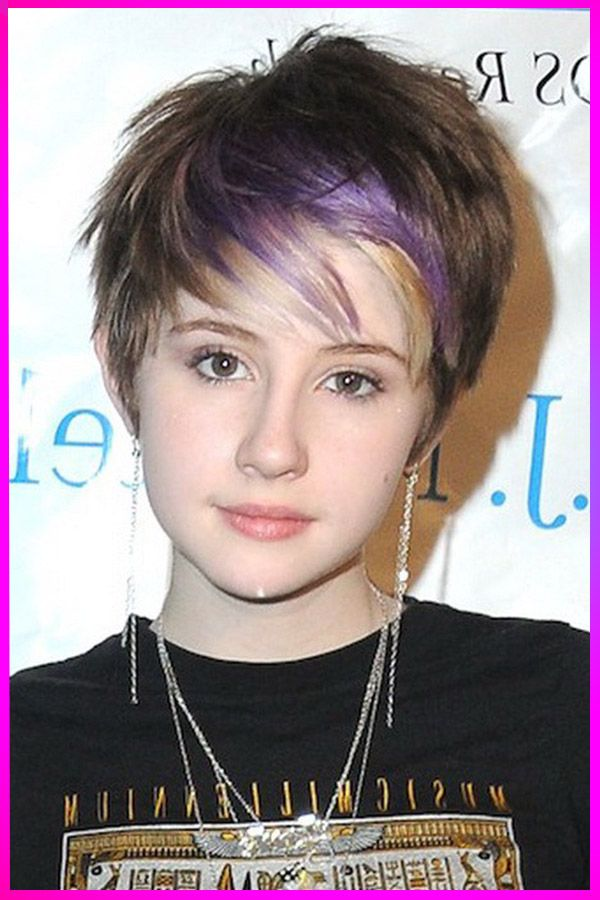 Cute Short Hairstyles And Colors Ideas For Womens With Round Face In 2020 In 2020 Teenage Girl Hairstyles Short Hair Styles Easy Short Hair Styles